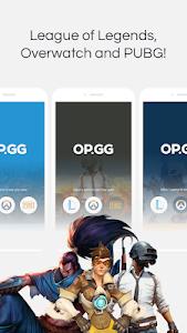 Download OP.GG for League/ PUBG/ Overwatch 4.9.8 APK