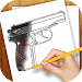 Download Learn to Draw Guns, Pistols 1.02 APK