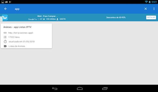 Download Free IPTV Lists: Free and Updated iptv List 2.1 APK