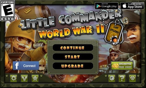 screenshot of Little Commander - WWII TD version 1.8.9