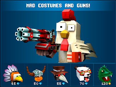 screenshot of Mad GunZ- FPS, block shooter, pixel shooting games version 1.4.7