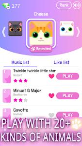 Download Magic Cat Piano Tiles - Pet Pianist Tap Animal 2.5.0 APK