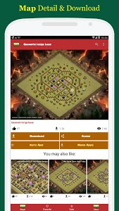 Download Maps for Clash of Clans - Town Hall & Builder Hall v2.0 APK