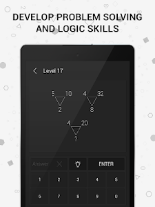 screenshot of Math | Riddles and Puzzles Math Game version 1.09