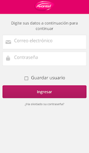 screenshot of Mi Avantel Móvil version 1.6.8