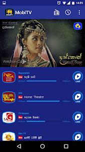 screenshot of MobiTV - Sri Lanka TV Player version 3.0.13