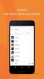 screenshot of Musico - Free Music version 1.5.4