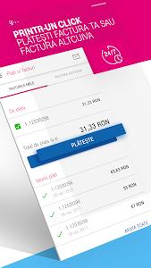 screenshot of MyAccount Telekom version 4.1.34