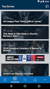 screenshot of NBA version 2016.3.0.1