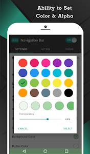 screenshot of Navigation Bar (Back, Home, Recent Button) version 1.4.3