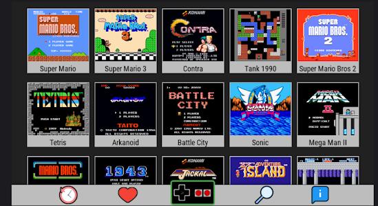 screenshot of Nes Emulator GameBoy version 6.0