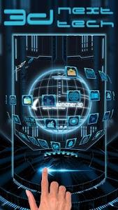 Download 3D Next Tech Theme Launcher for Huawei Samsung 1.0 APK