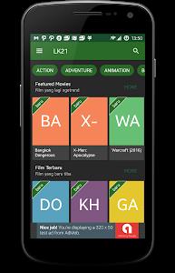 screenshot of Nonton LK21 version 8.0.0
