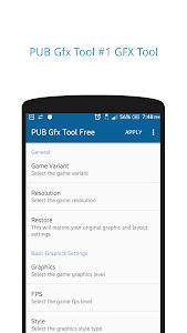 Download PUB Gfx Tool Free(NO BAN)? 1080p HDR 60FPS 4xMSAA 0.14.1f APK