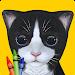 Download Paint My Cat: 3D Coloring Book 4.04 APK