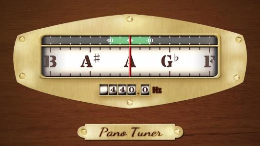 screenshot of Pano Tuner - Chromatic Tuner version 1.2.7.4