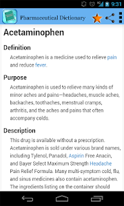 Download Pharmaceutical Dictionary 1.0 APK