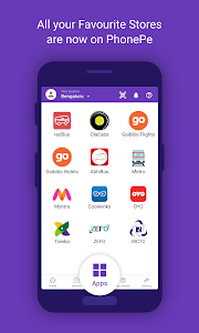screenshot of PhonePe – UPI Payments, Recharges & Money Transfer version Varies with device
