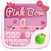Download Pink Bow GO Keyboard Theme 4.16 APK