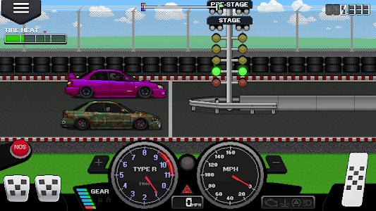 screenshot of Pixel Car Racer version 1.0.66