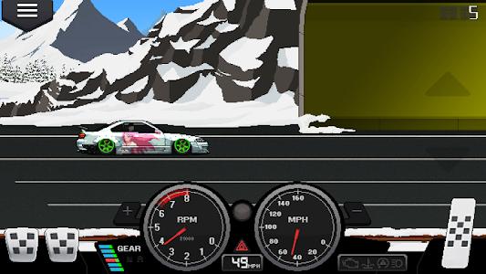 screenshot of Pixel Car Racer version 1.0.53