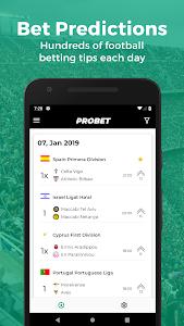 screenshot of Pro Bet - Football Betting Tips & Score Prediction version 1.0