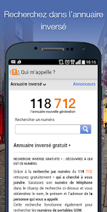 screenshot of Qui m'appelle? version 3.3.0