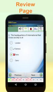 screenshot of RRB Railways Exam version 1.107