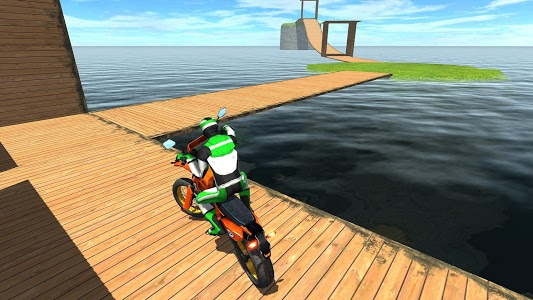 screenshot of Racing on Bike Free version 2.8