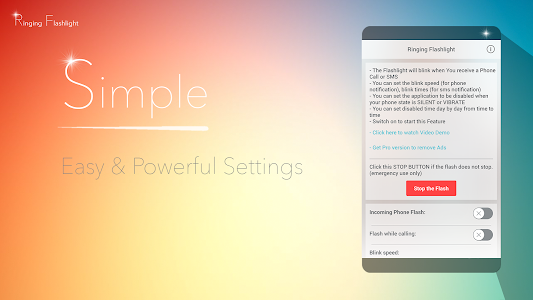 Download Ringing Flashlight 4.8.3 APK