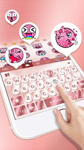 Download Rose Gold Keyboard for Phone8 8.0 APK