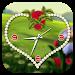 Download Rose clock live wallpaper 1.3 APK