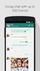 screenshot of SOMA free video call and chat version 1.1.7