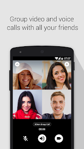 screenshot of SOMA free video call and chat version 1.4.2