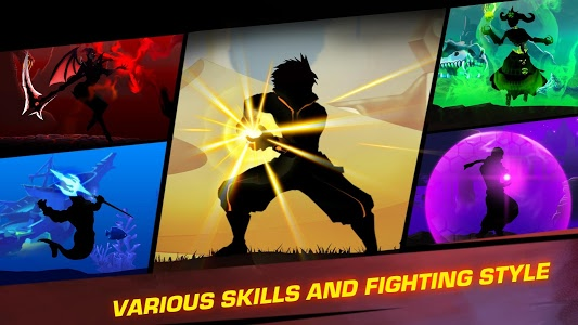 screenshot of Shadow Battle 2.1 version 2.1.36