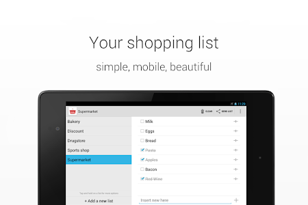 Download Shopping List 2.1.4 APK