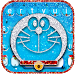 Download Silver Robot Cat Keyboard Theme 1.0 APK