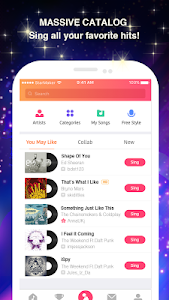 screenshot of Sing Karaoke Songs version 5.4.0