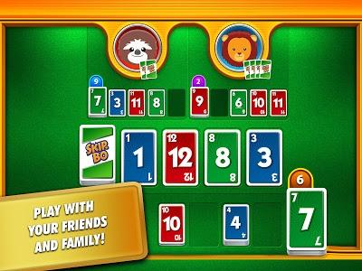 screenshot of Skip-Bo™ Free version 3.5.3