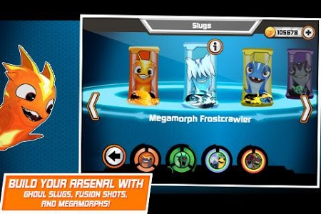 screenshot of Slugterra: Slug it Out! version 2.8.0