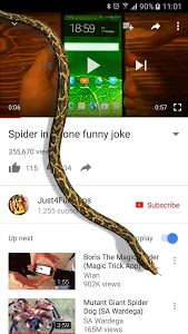 Download Snake On Screen Hissing Joke  APK