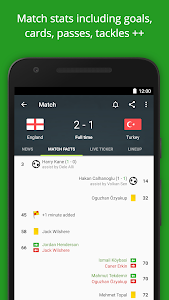 screenshot of FotMob - Euro 2016 Scores version Varies with device