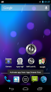 screenshot of Soft Lock Screen version 2.2