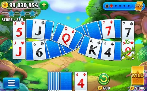 screenshot of Solitaire TriPeaks Journey - Free Card Game version 1.694.1