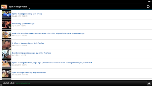 Download Sport Massage Videos 1.5 APK