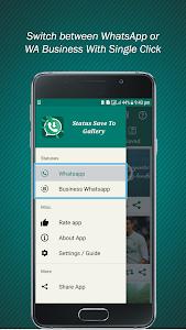 screenshot of Status Save To Gallery: Status Saver: Downloader version 1.1.8