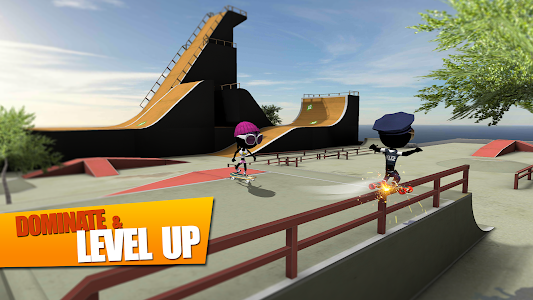 screenshot of Stickman Skate Battle version 1.0.13