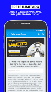 screenshot of Submarino - Loja online com ofertas exclusivas version 2.76.0