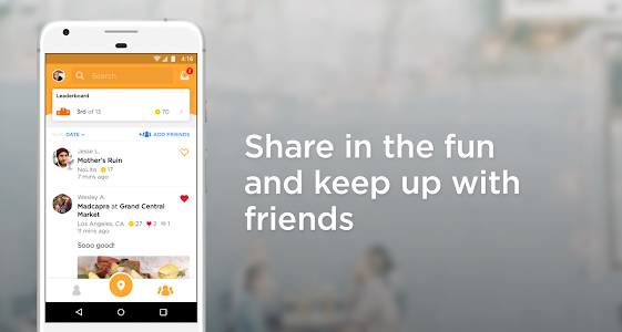 screenshot of Foursquare Swarm: Check In version Varies with device