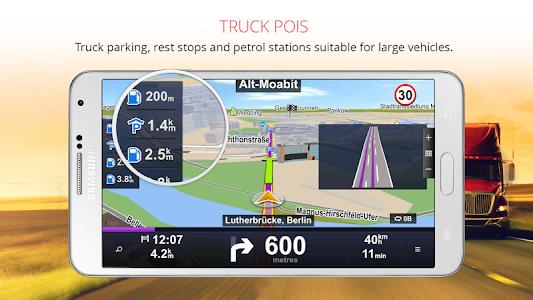Download Sygic Truck GPS Navigation 13.8.2 APK